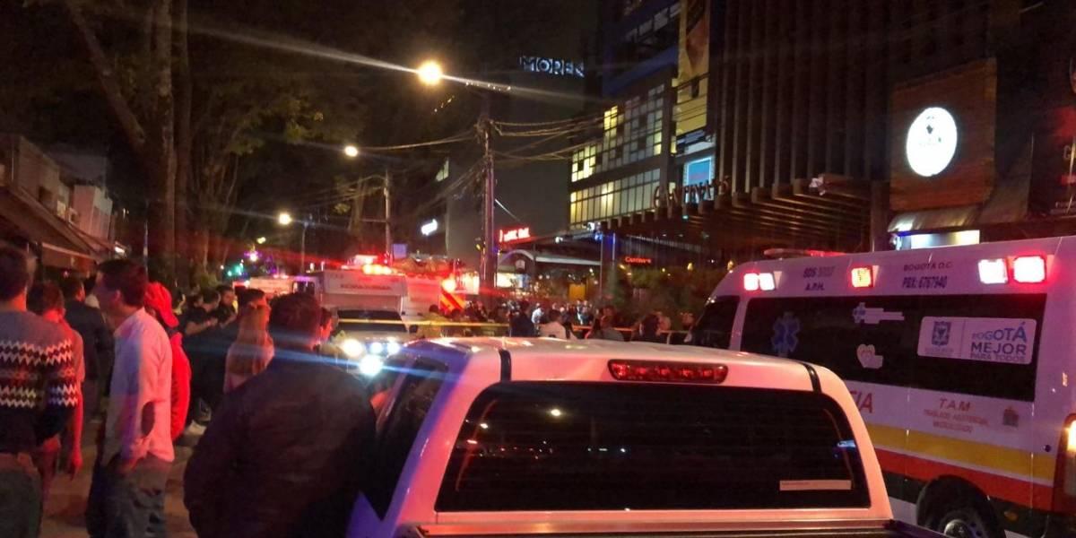 Tarima de reconocido restaurante se desplomó y dejó 10 heridos en el norte de Bogotá