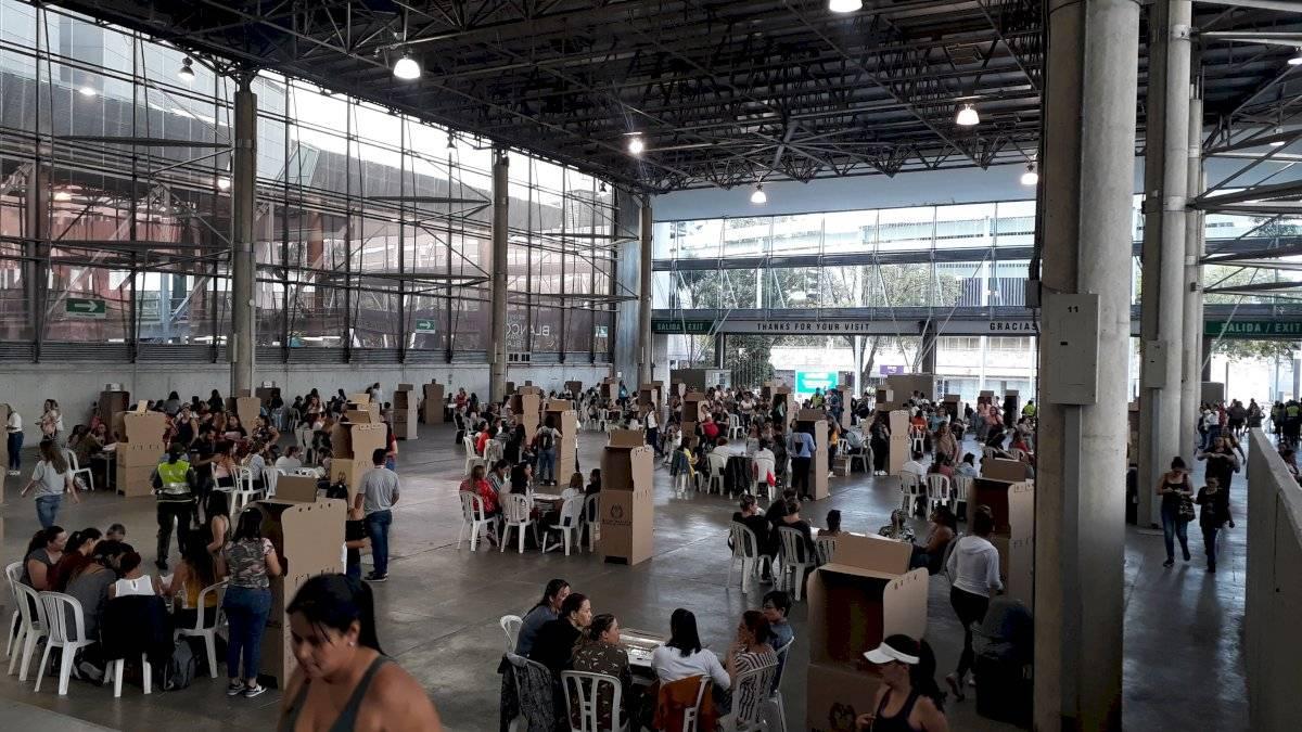 Elecciones Colombia Plaza Mayor
