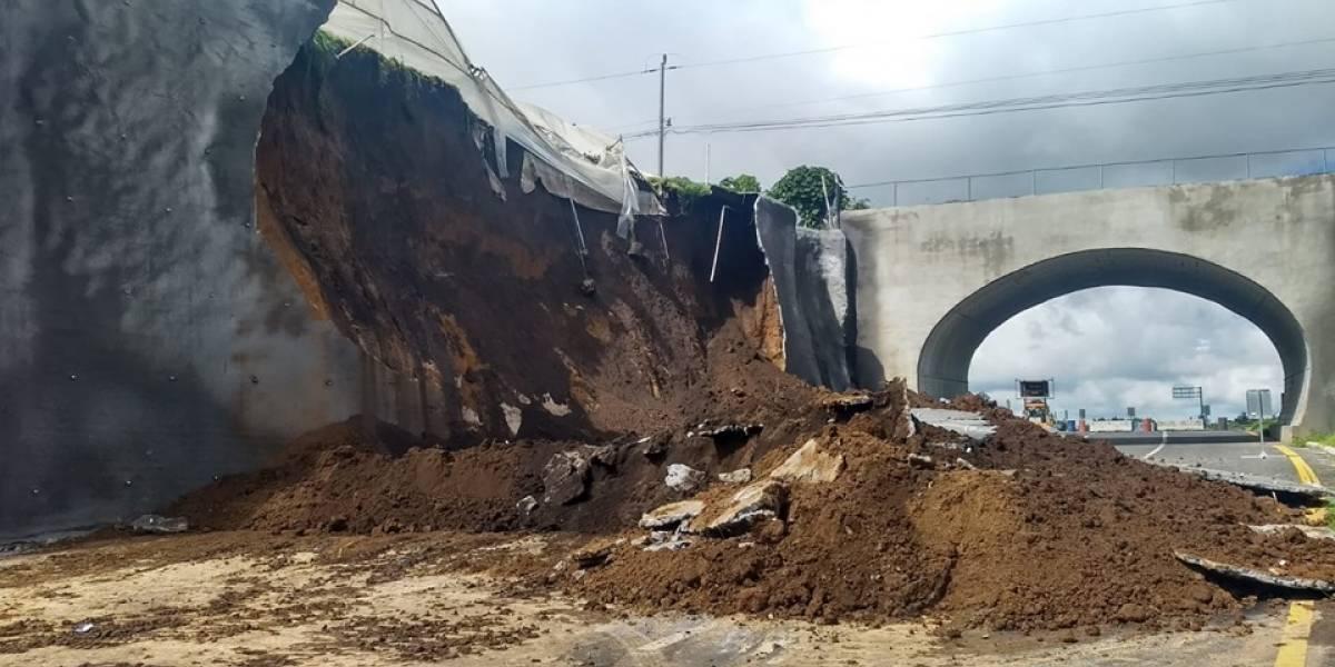 Conred identifica puntos de riesgo de deslizamientos en área metropolitana