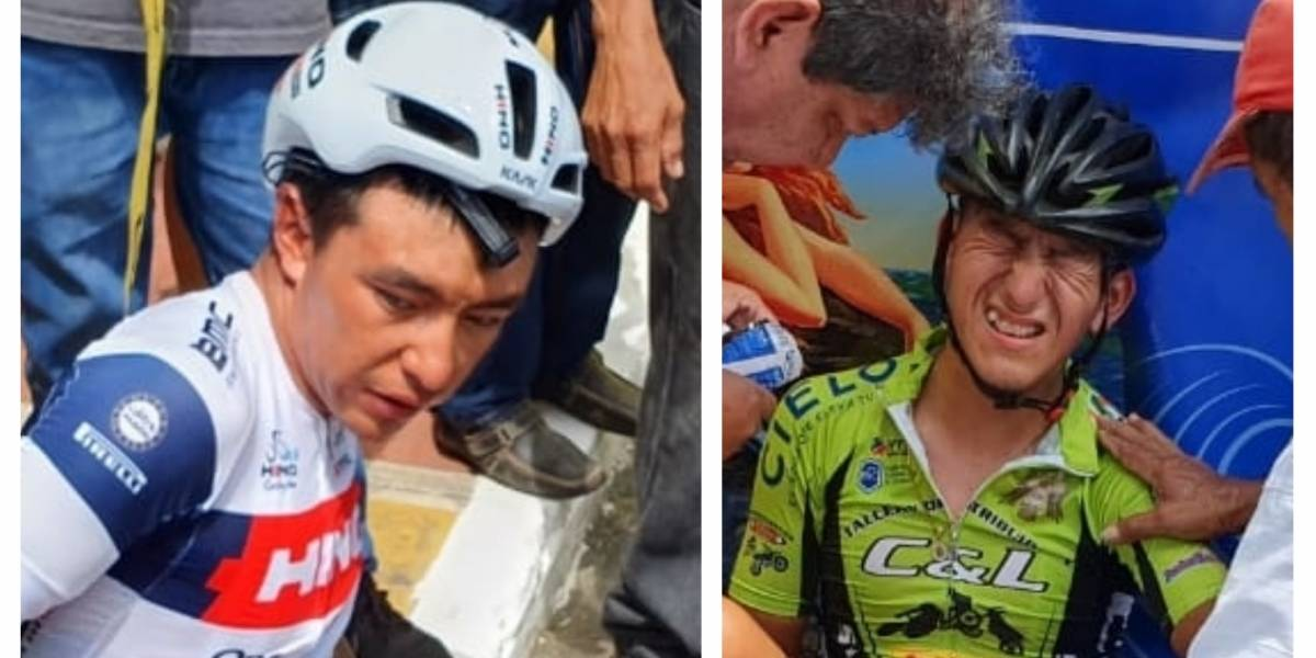 Dos ciclistas abandonan la Vuelta tras accidentado ingreso en Suchitepéquez