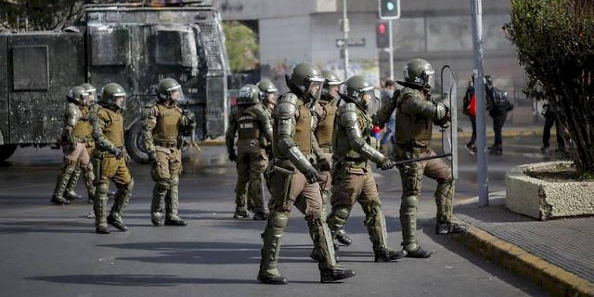 Lo que deben respetar: así es el protocolo de Carabineros para actuar en las marchas