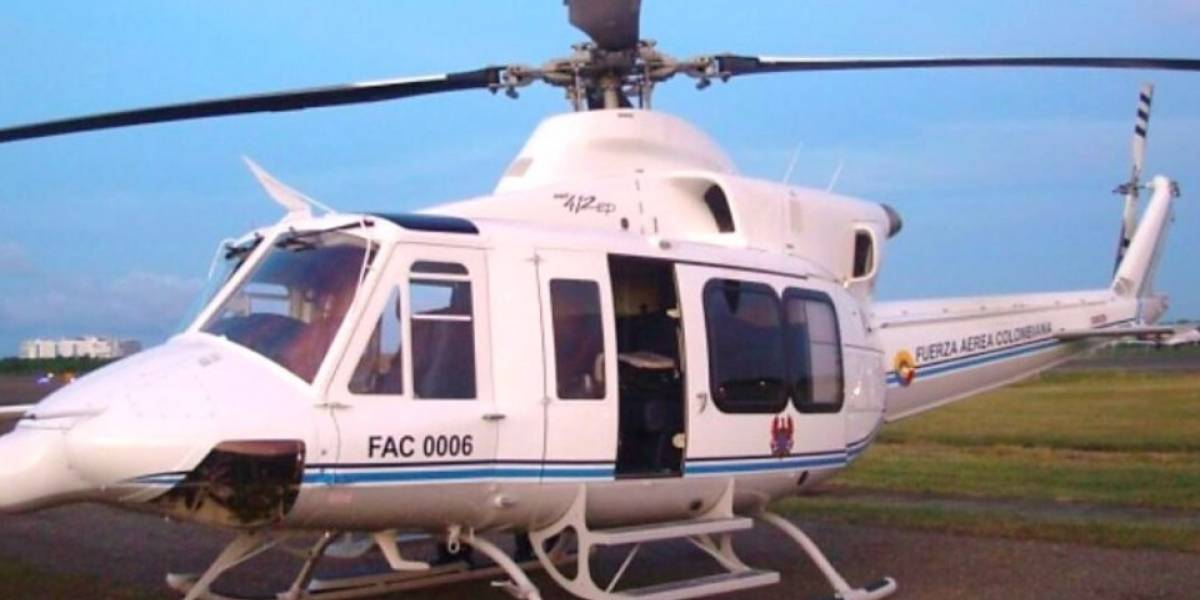 Encuentran helicóptero presidencial desaparecido desde el viernes