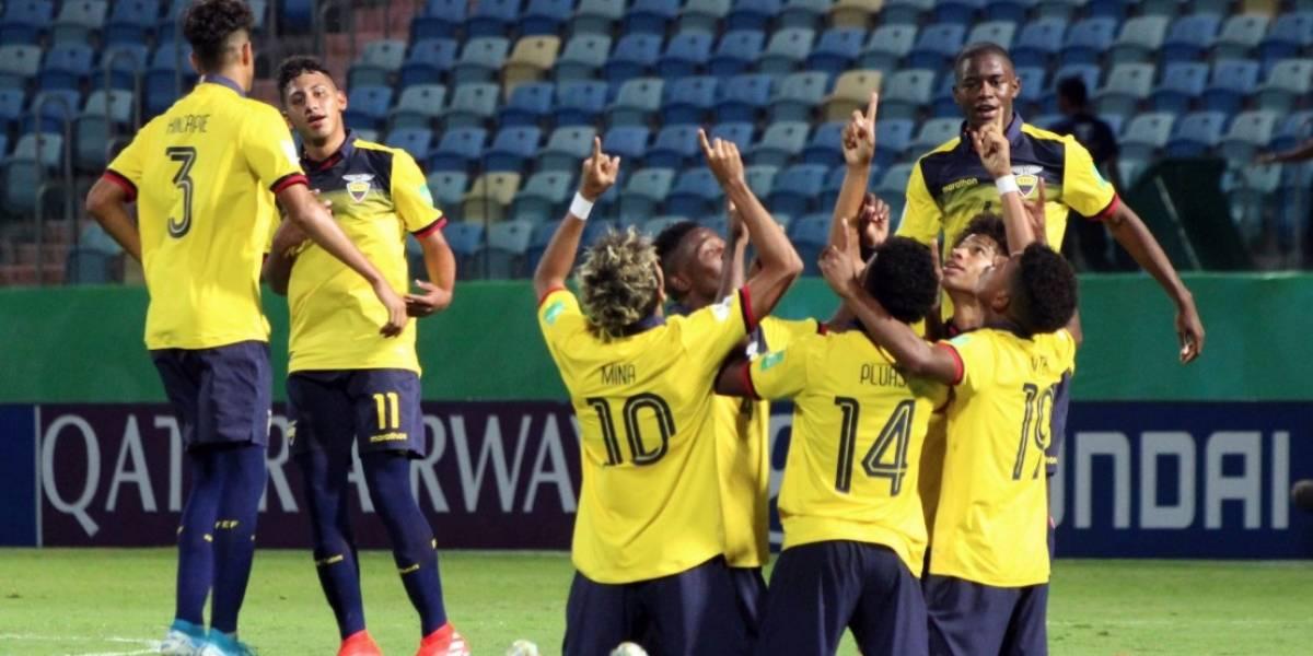 La Tricolor Sub 17 triunfantes en el Mundial Brasil 2019