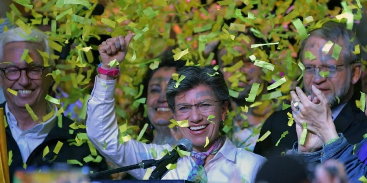 La primera alcaldesa electa de Bogota, Claudia López, una mujer que rompió moldes