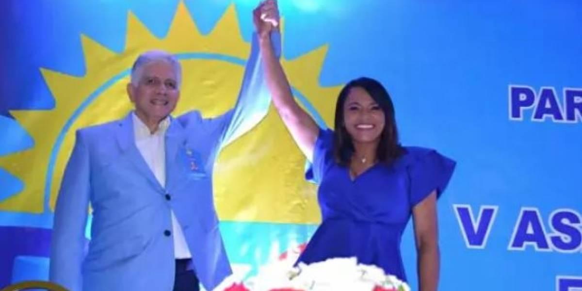 Dominicanos Por El Cambio presenta a Diulka Pérez como candidata a Diputada