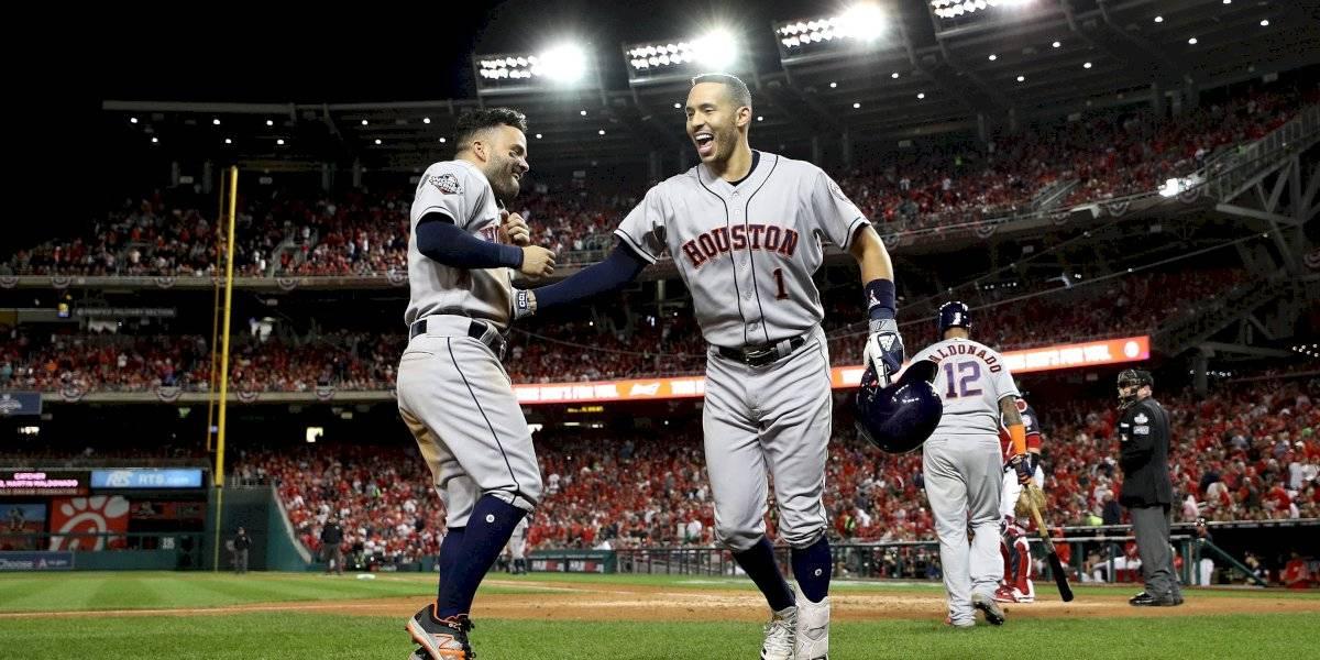 Astros de Houston ponen en jaque a los Nacionales
