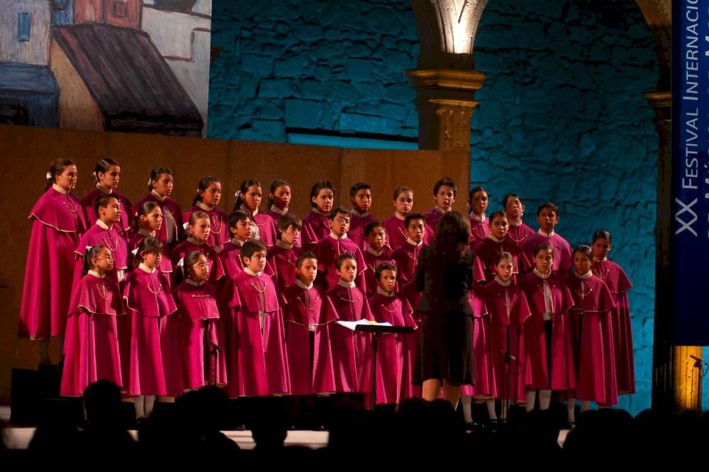 Niños cantores de Morelia