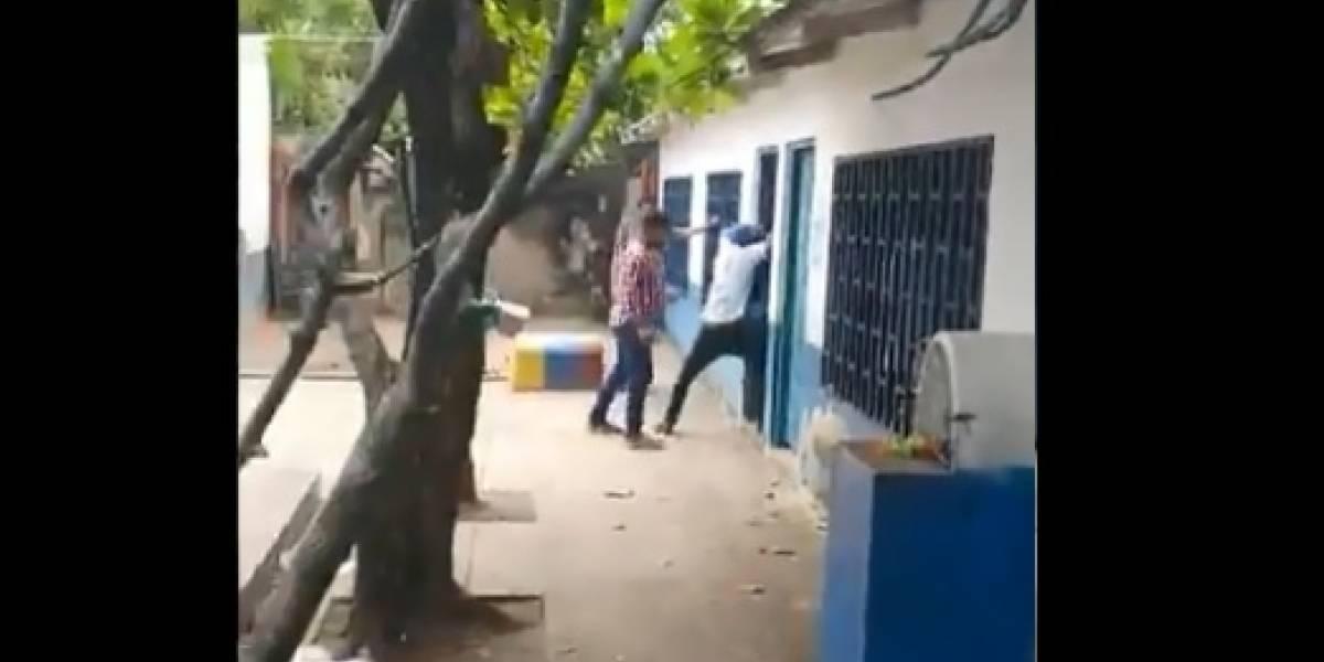 En video: Por desórdenes suspendieron votación en dos pueblos del Magdalena
