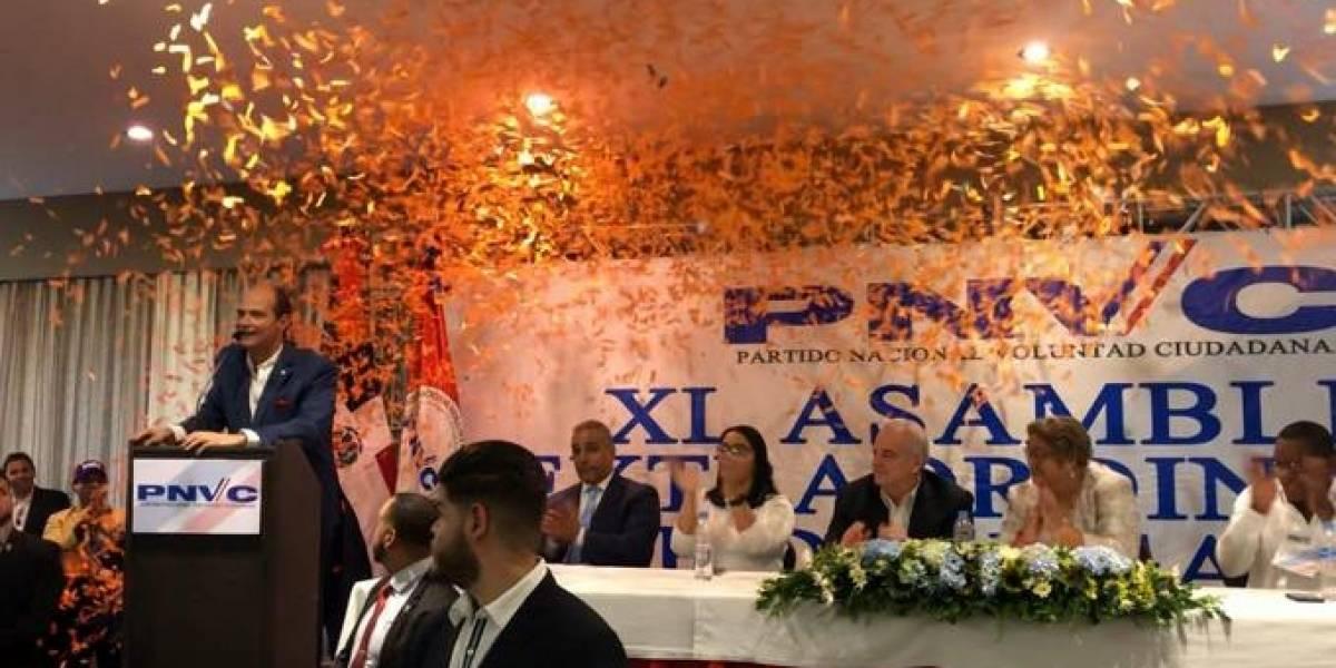 PNVC elige a Ramfis Domínguez Trujillo candidato presidencial