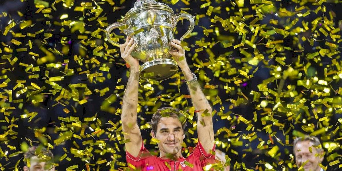 Federer consigue su décimo título en Basilea y el 103 de su carrera