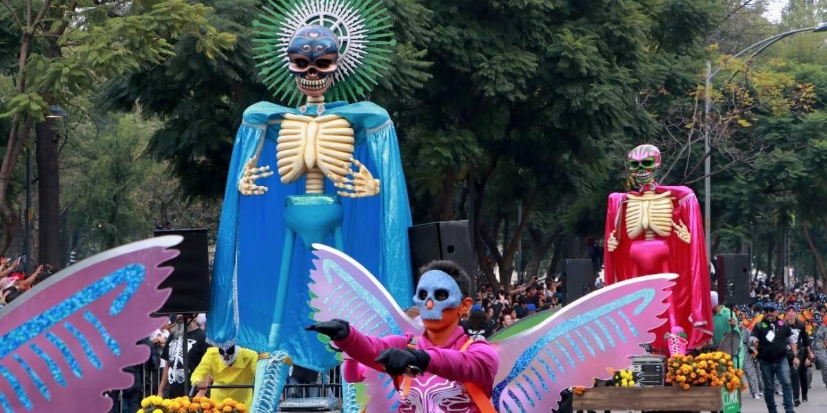 Mega Desfile de Día de Muertos invade la CDMX