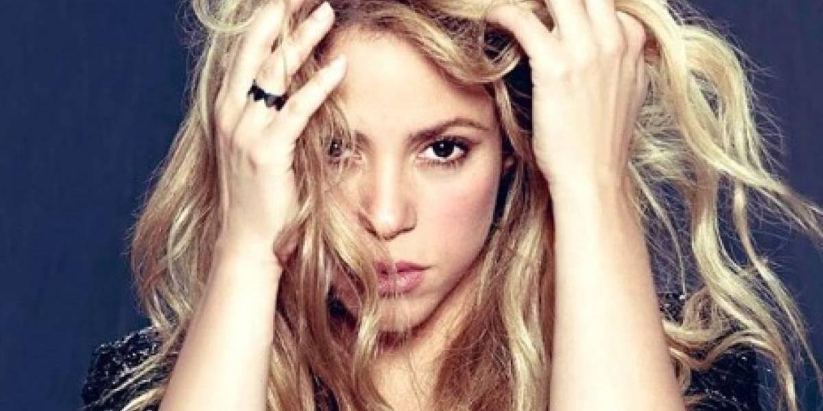 """Filtran imagen de Shakira en asfixiante traje de baño cuando fue coronada como """"La mejor cola de Colombia"""""""