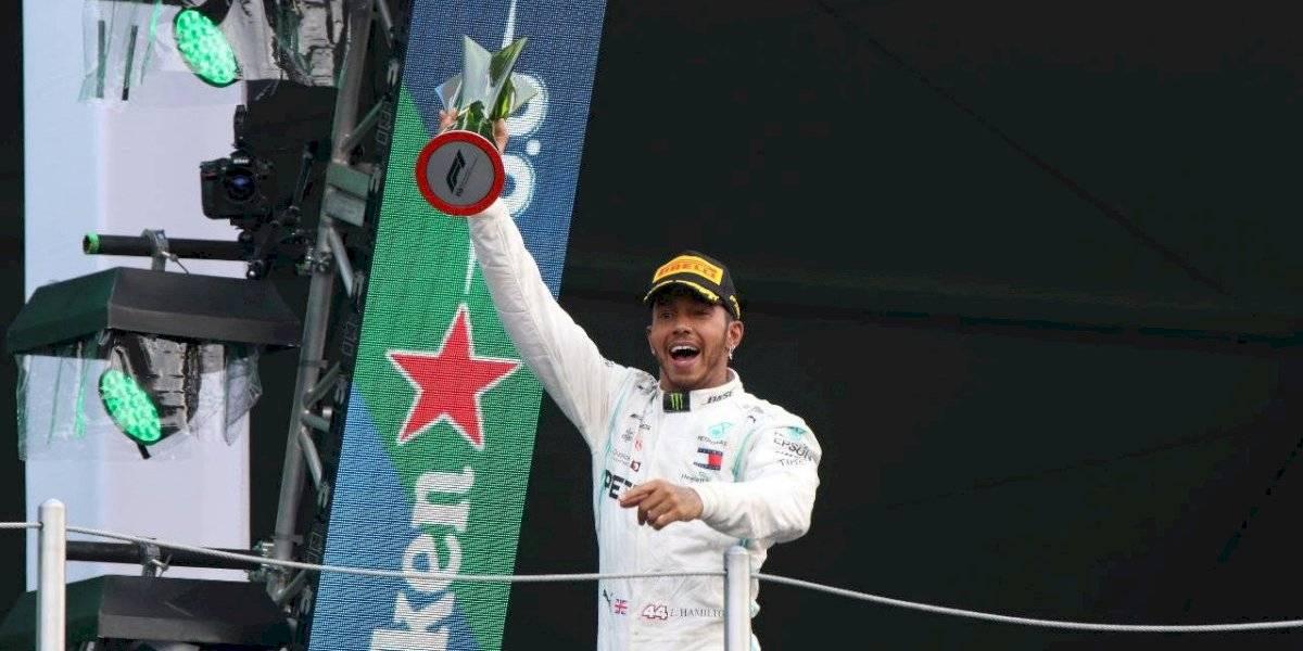 Lewis Hamilton vuelve a ganar en México, pero el título tendrá que esperar