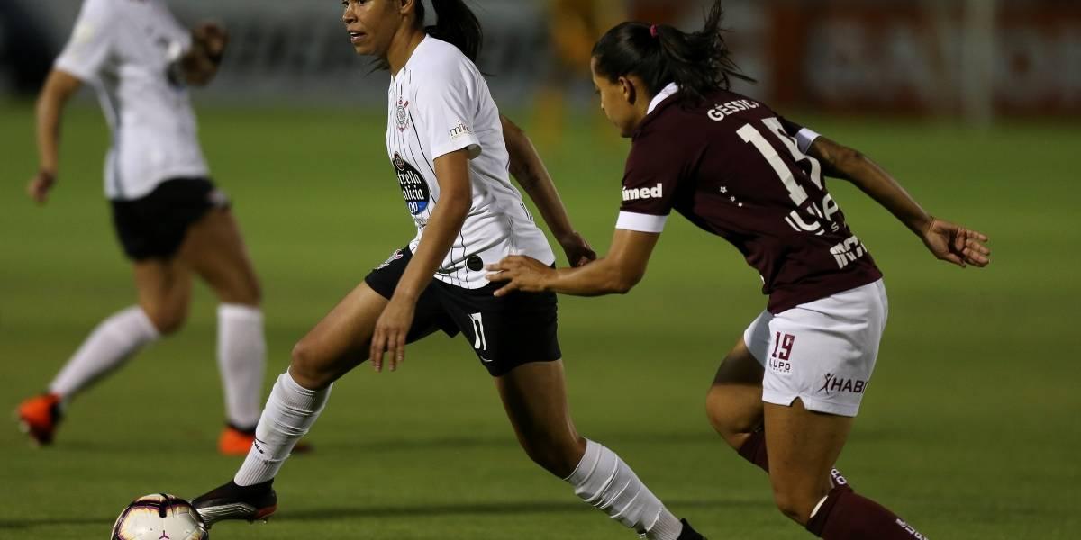 Las integrantes del Corinthians se consagran campeonas de la Copa Libertadores femenina 2019