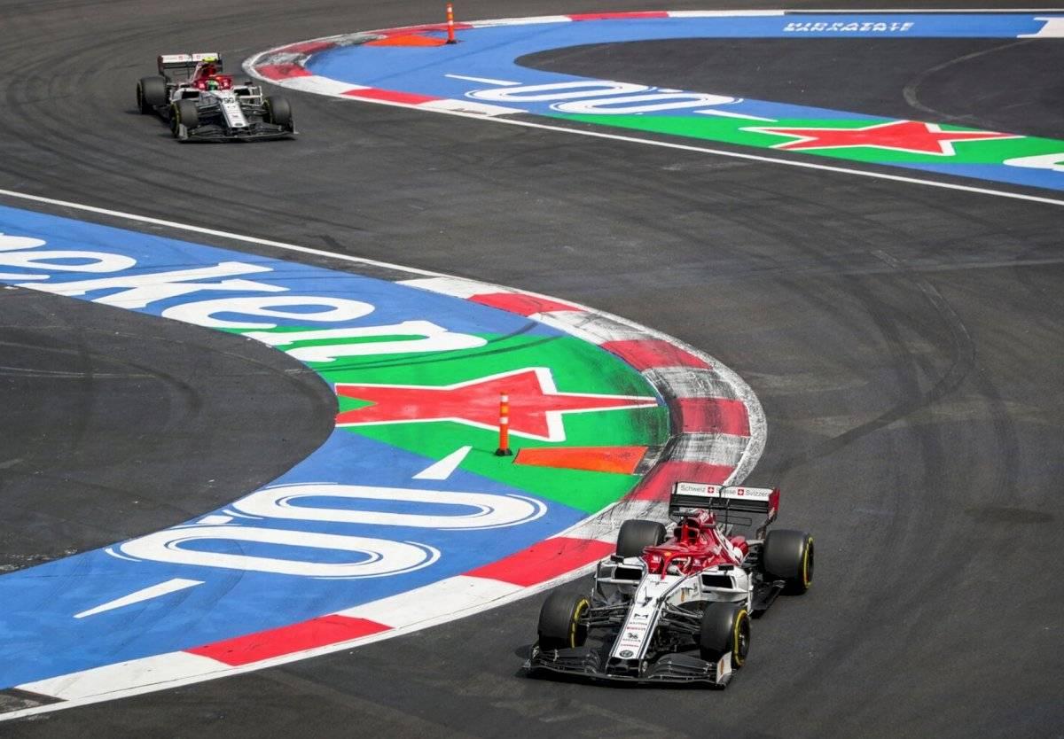 Alfa Romeo Racing en el Gran Premio de México