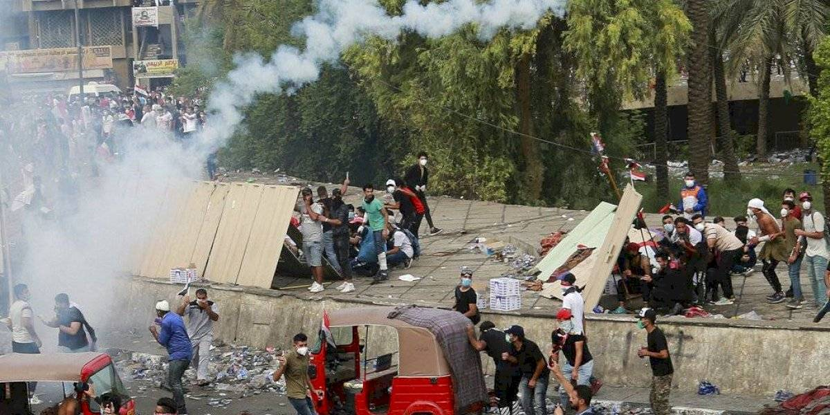 Estudiantes se suman a protestas en Irak