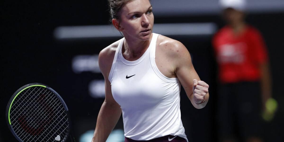 Halep y Svitolina inician Final de la WTA con triunfos