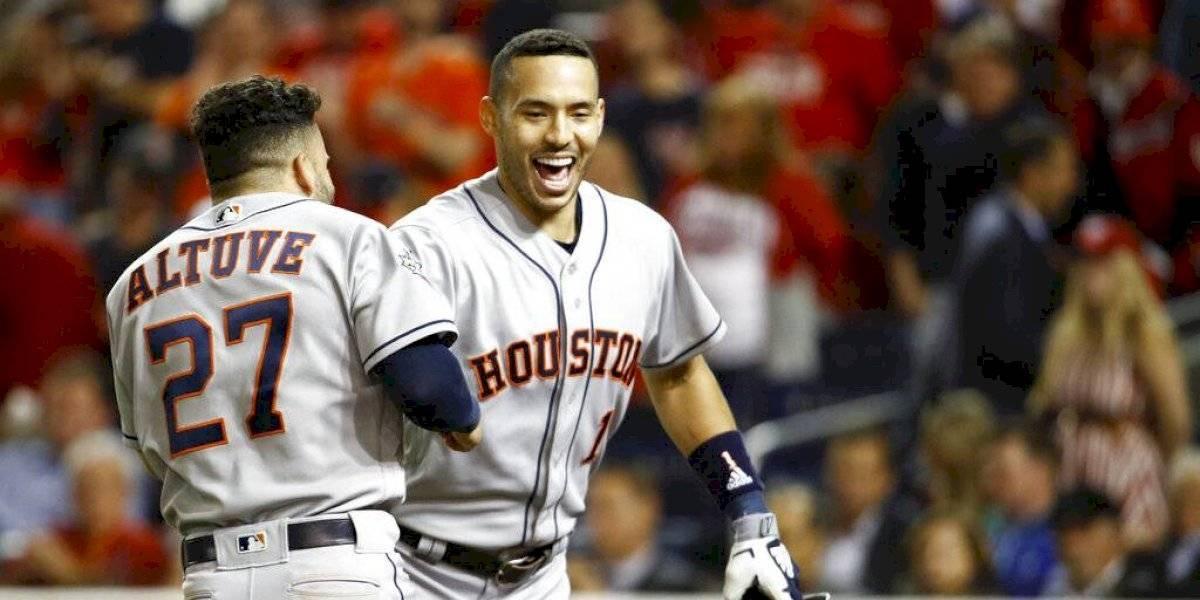 Astros consiguen la voltereta en la Serie Mundial
