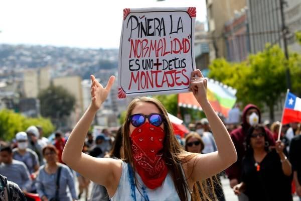 """Regreso a la """"normalidad"""": chilenos cansados por la desigualdad ..."""