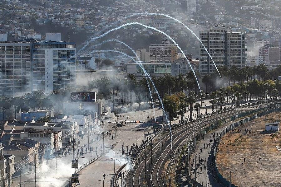 Protesta Valparaíso
