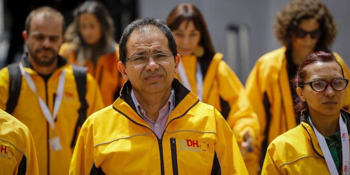INDH reporta 4.364 detenidos y 1.659 heridos en hospitales del país