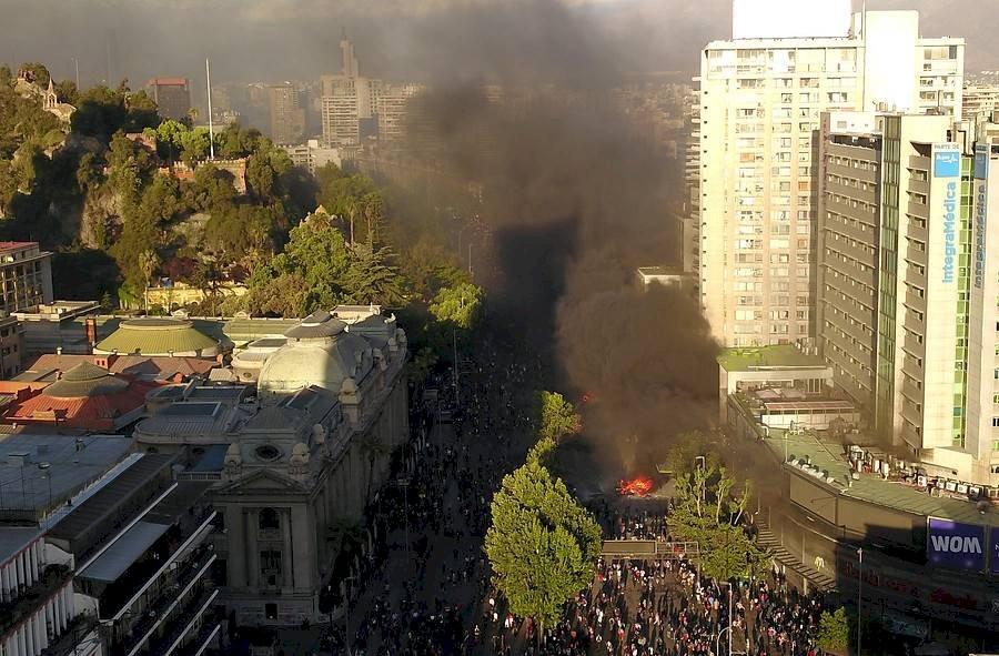 Protesta Santiago