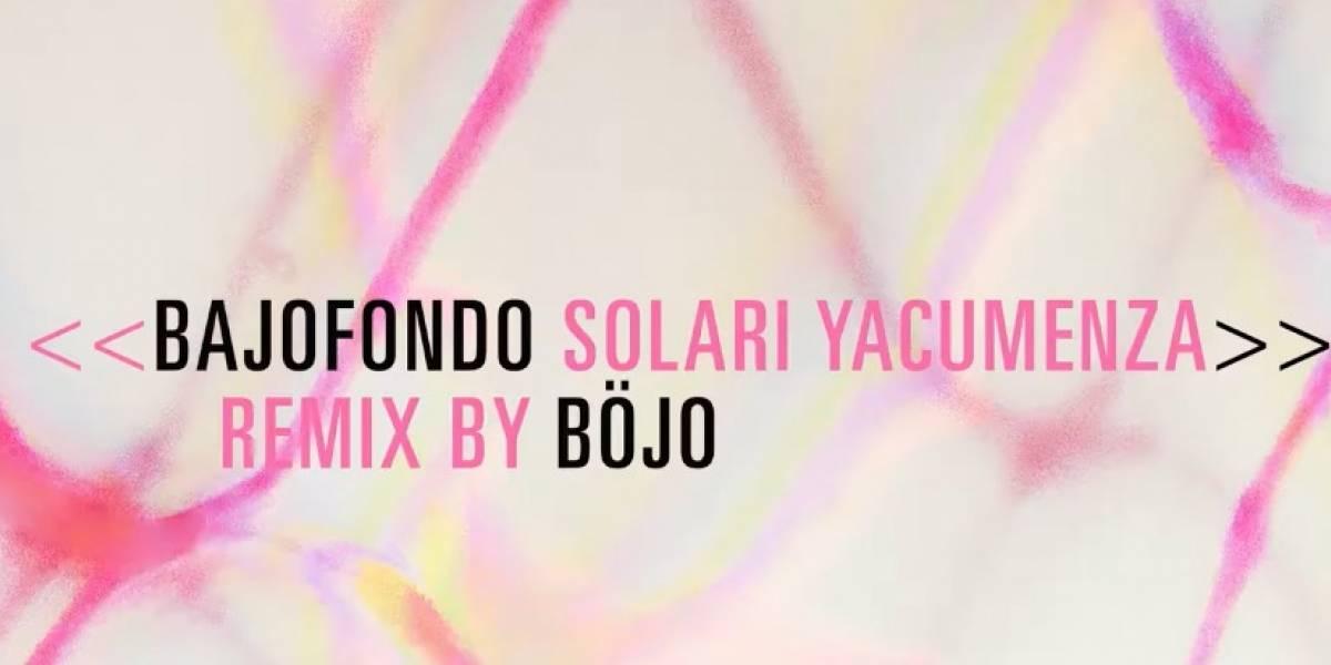Böjo se une a Bajofondo en el remix oficial de Solari Yacumenza