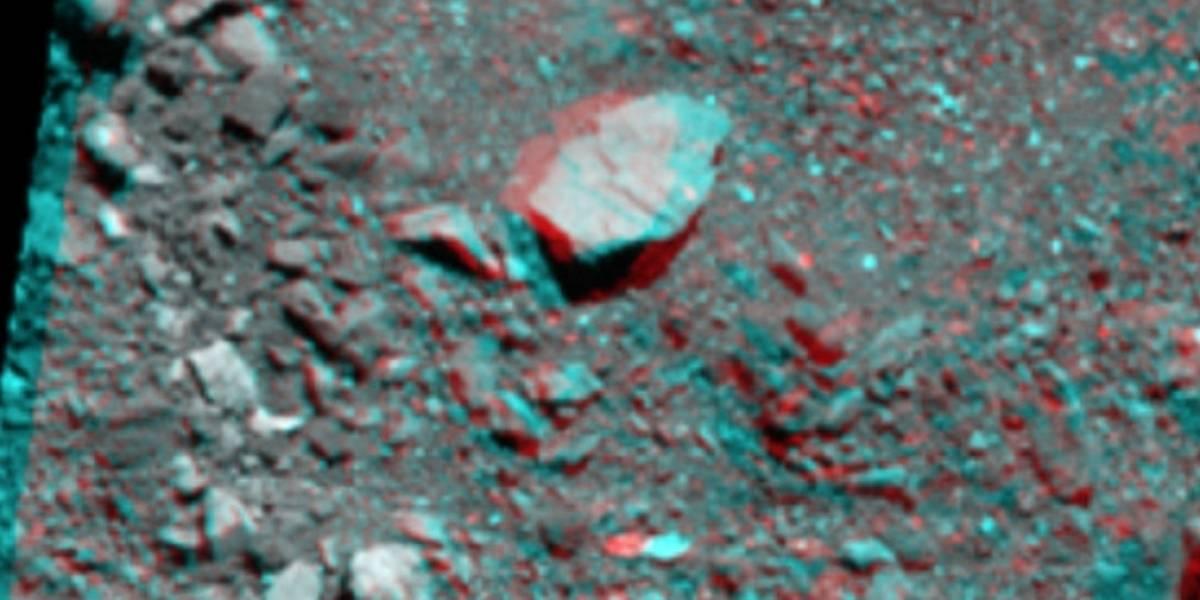 NASA divulga novo registro em 3D do asteroide Bennu
