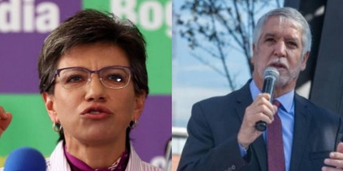 La reacción de Enrique Peñalosa al triunfo de Claudia López