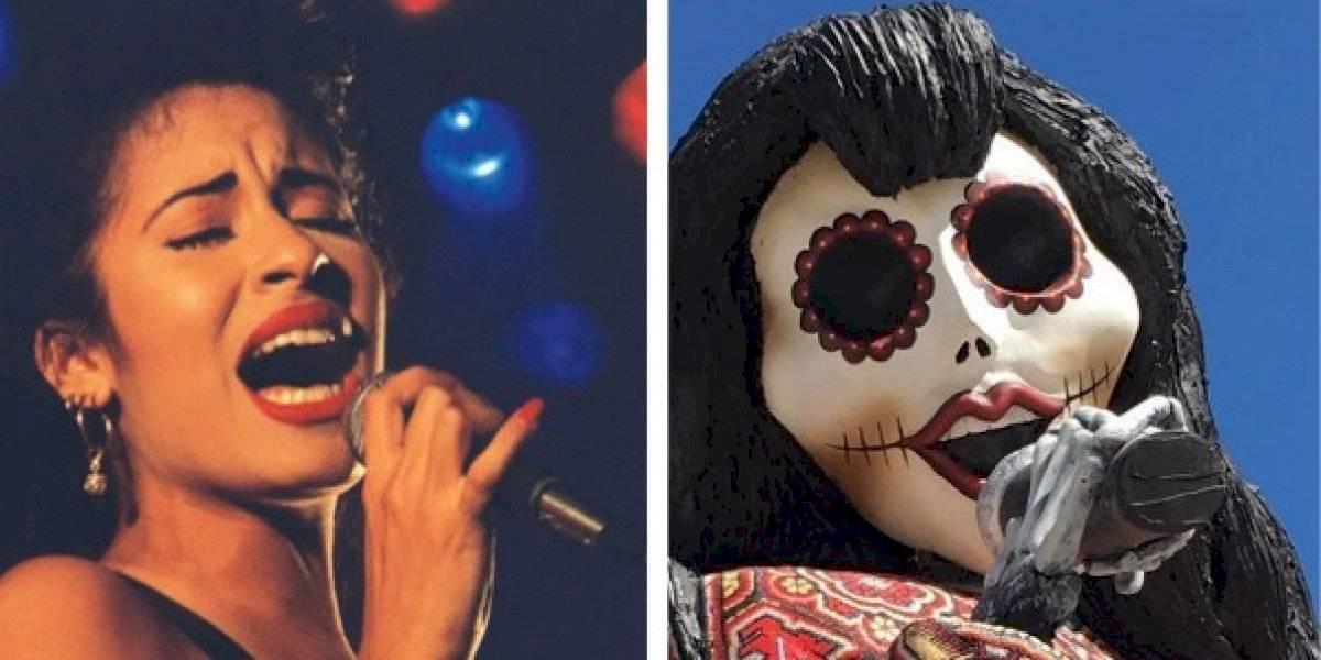 Catrina de Selena Quintanilla es expuesta en Texas