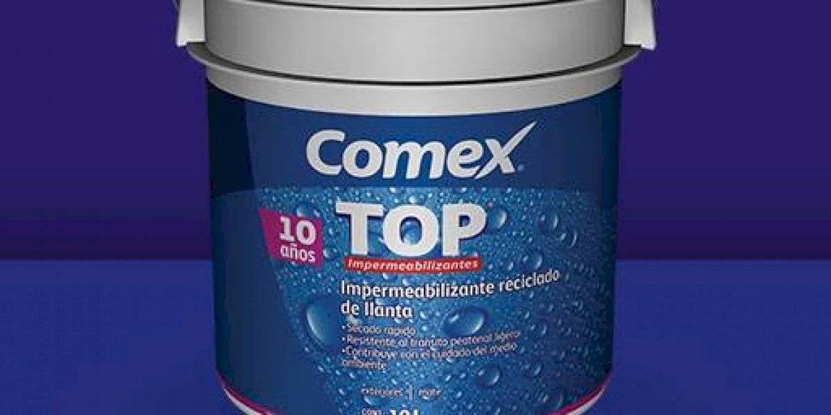 """""""Top Reciclado de Llanta"""", es la opción sustentable para impermeabilizar"""