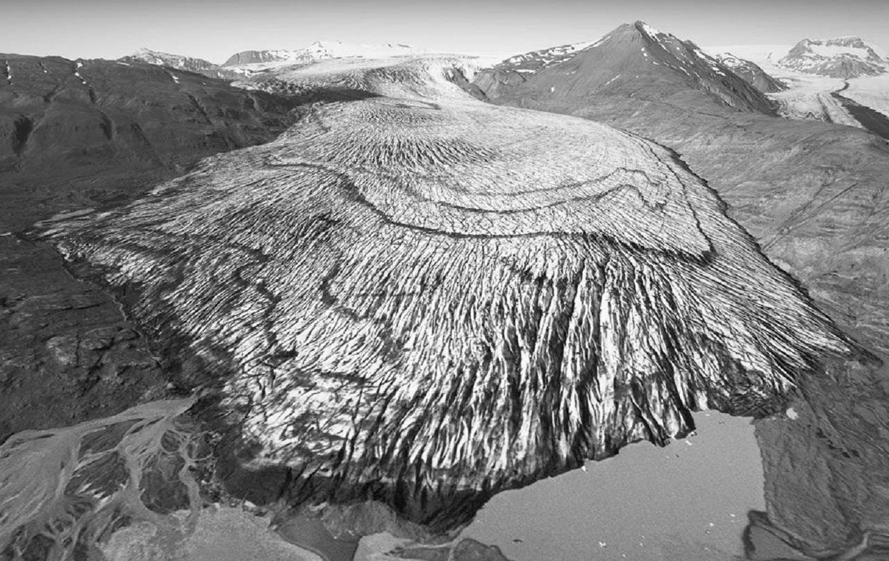 FOTOS: En 40 años el cambio climático derritió los glaciares en Islandia y estas son las pruebas