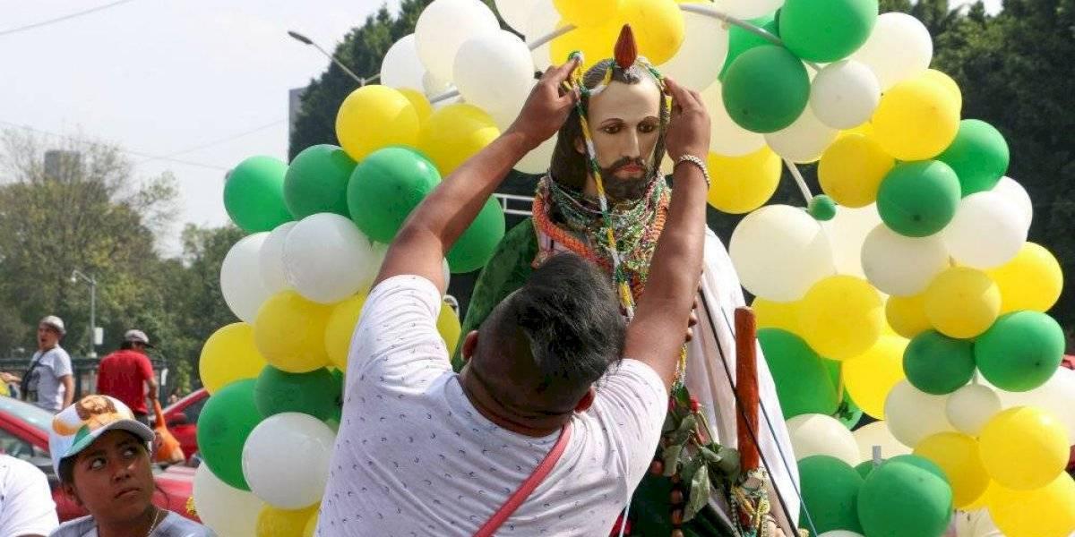 San Judas Tadeo, el santo de las causas perdidas que mueve a miles de mexicanos