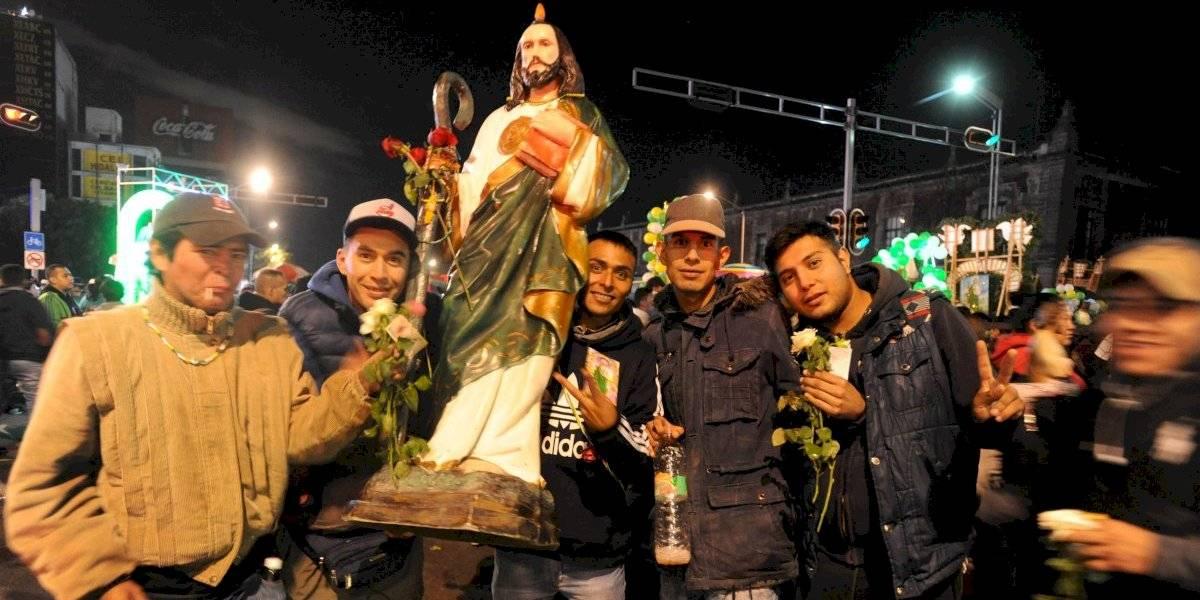 Cierran la circulación por celebración de San Judas Tadeo