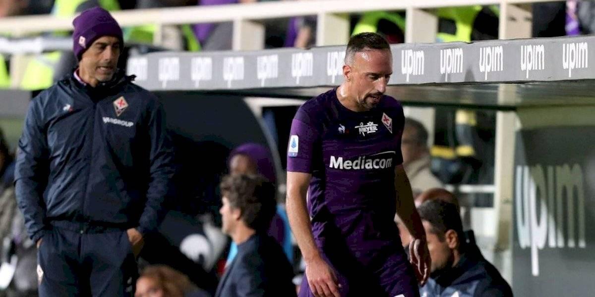 VIDEO: Frank Ribery es suspendido 3 jornadas por empujar a un juez de línea