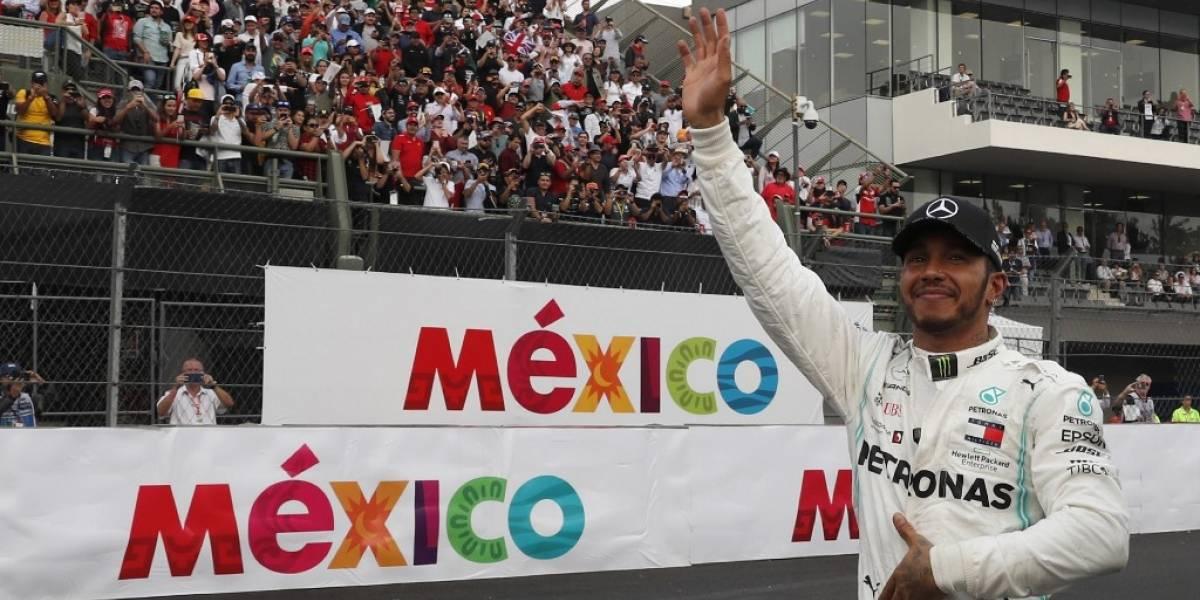 Lewis Hamilton gana el Gran Premio de México y queda a un paso de ser campeón