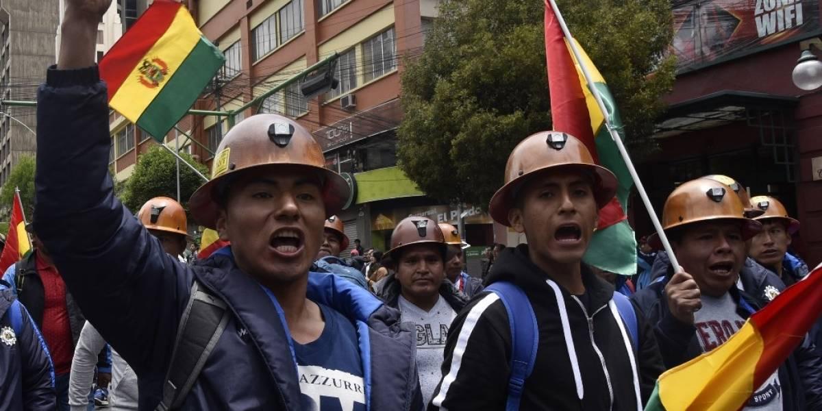 Oposición intensifica protestas contra Morales en Bolivia