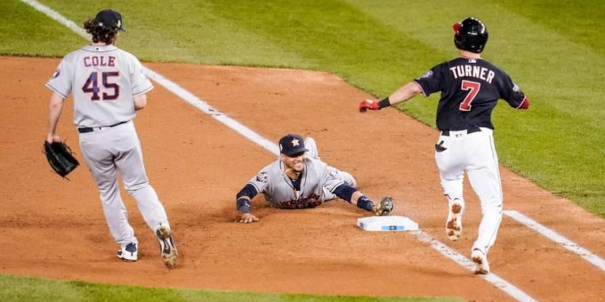 VIDEO. Los Astros están a un triunfo de ganar la Serie Mundial