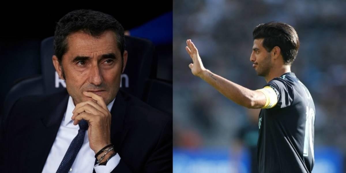 Valverde no contempla el fichaje de Carlos Vela al Barcelona