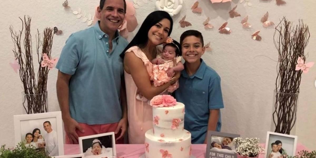 Xioana Nieves celebra por todo lo alto la llegada de su segunda hija
