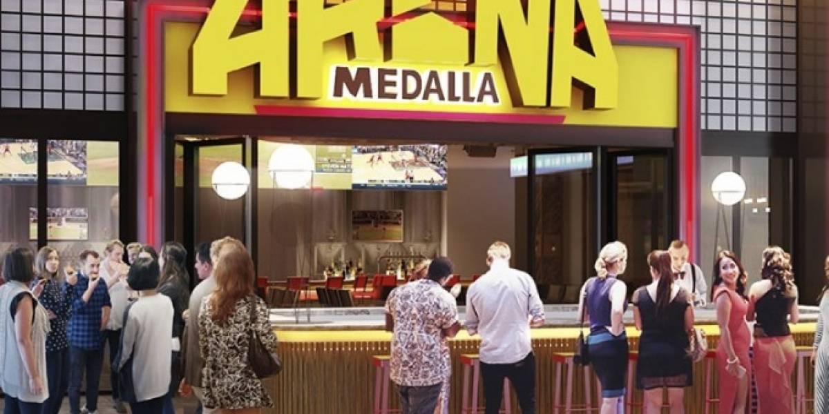 Anuncian construcción de sports bar Arena Medalla en El Distrito