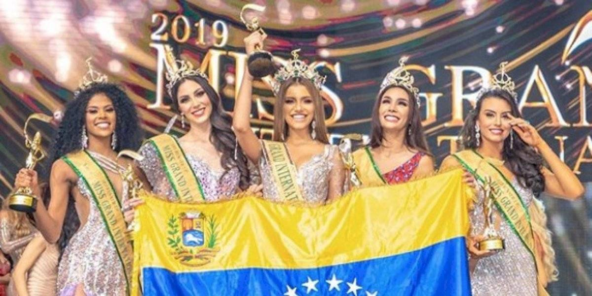 Valentina Figuera conquista Miss Grand International en su tierra