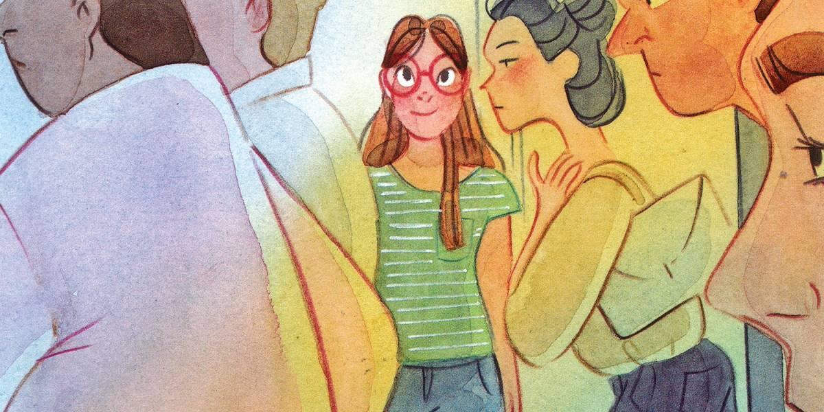Nova Graphic MSP, 'Tina - Respeito' discute o assédio sofrido pelas mulheres