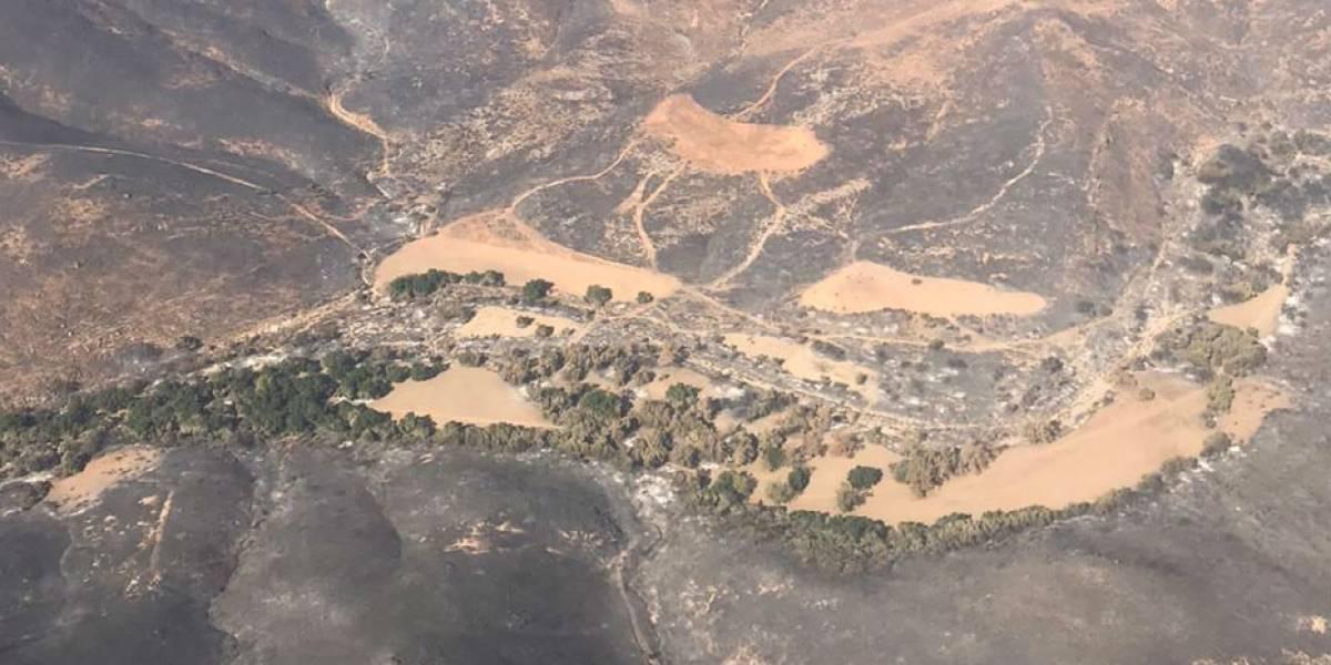 Sofocan incendios en Baja California al 100%
