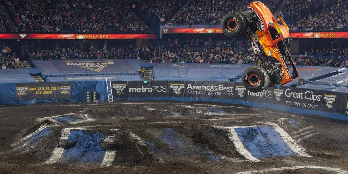 Regresa el Monster Jam 2019