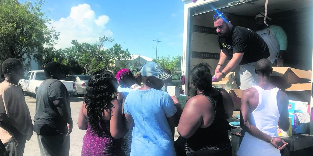 Claman por agua potable en Bahamas