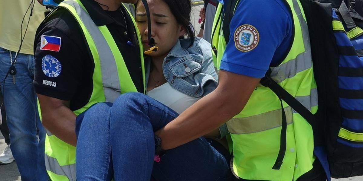 5 muertos y 70 heridos por sismo en el sur de Filipinas