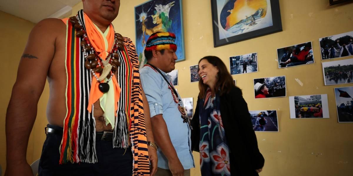 Grupos indígenas testifican ante CIDH sobre abusos durante las protestas en Ecuador