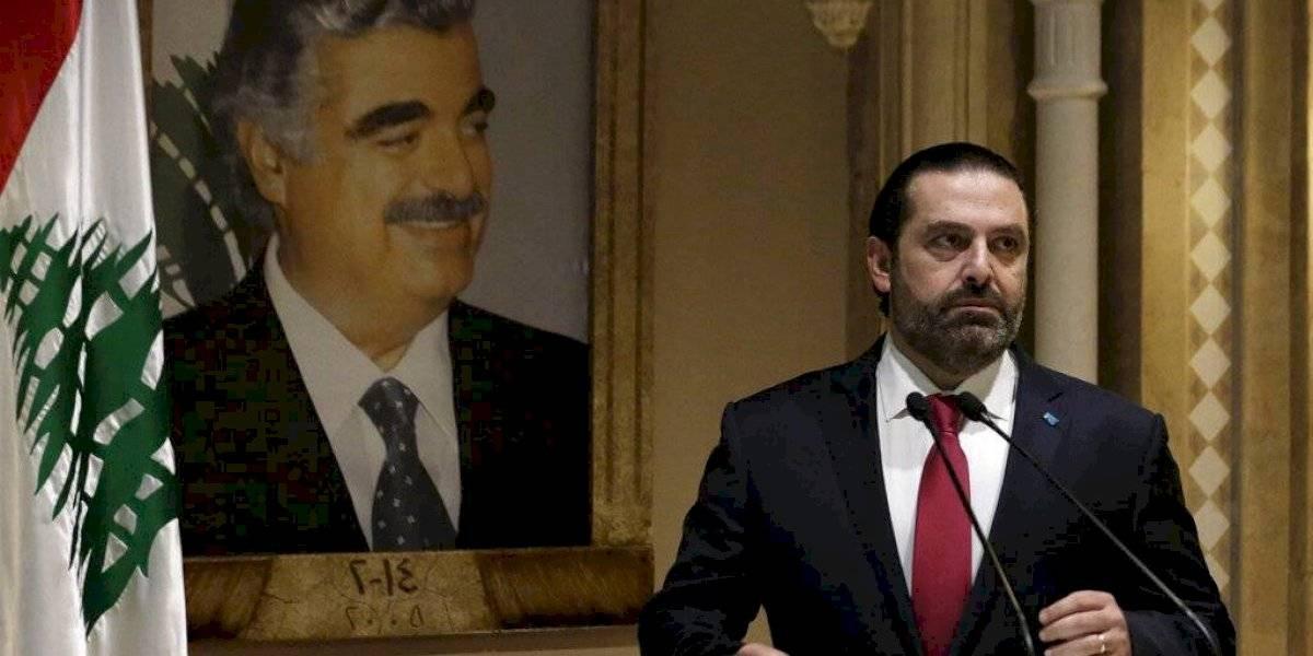 Renuncia el primer ministro de Líbano
