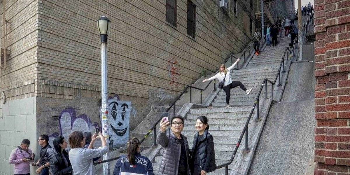 """Escaleras en filme de """"Joker"""" atraen turistas al Bronx"""